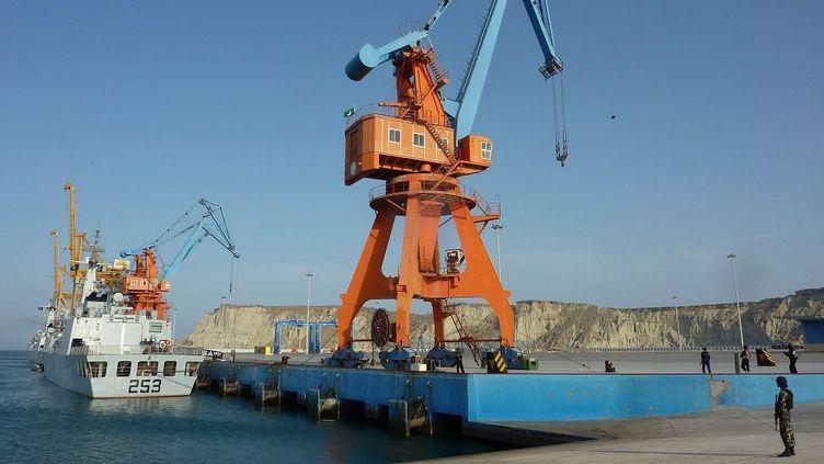 Depuis 2012, la Chine a obtenu la gestion du port de Gwadar au Baloutchistan pakistanais. (AFP)