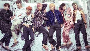 Le groupe BTS en octobre 2016. (BIG HIT ENTERTAINMENT)