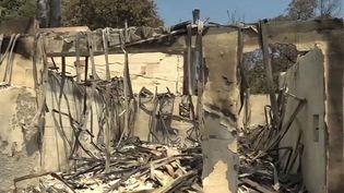 Incendie dans le Var : les sinistrés découvrent l'ampleur des dégâts (France 3)