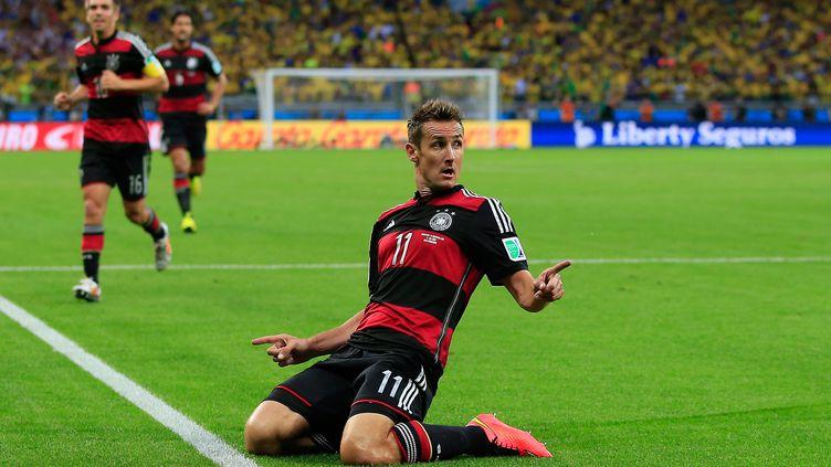 Clap de fin pour Miroslav Klose (ADRIAN DENNIS / AFP)