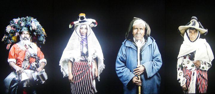 Leïla Alaoui, Les Marocains, 2011 Série photographique, Galerie Continua, Les Moulins  (Annie Yanbékian / Culturebox)