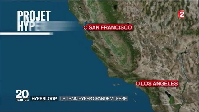 Transports : premier test réussi pour l'Hyperloop, le train hyper grande vitesse