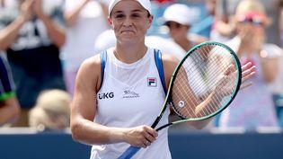 Ashleigh Barty, vainqueur des Masters de Cincinnati il y a quatre jours, a hérité d'une partie de tableau dégagé à l'US Open, du moins jusqu'en demi-finales.  (MATTHEW STOCKMAN / GETTY IMAGES NORTH AMERICA / AFP)
