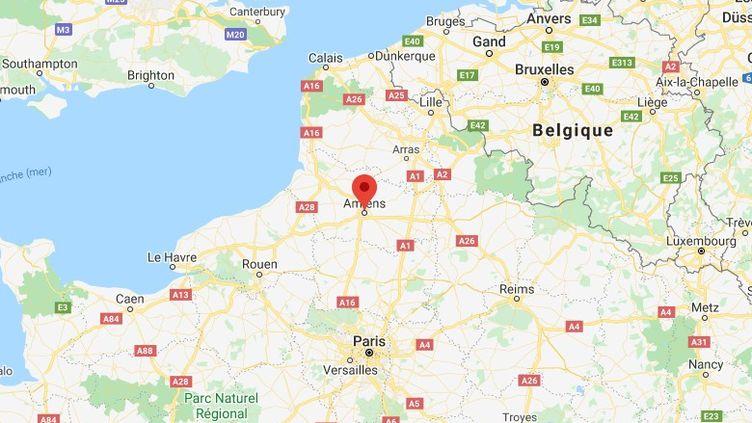 Amiens, en Picardie. (GOOGLE MAPS)