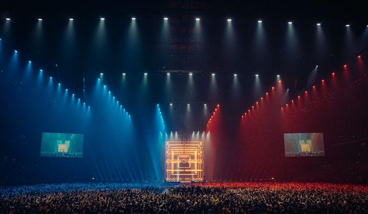 """Un extrait de la captation """"DJ Snake, le concert au cinéma"""". (MULTYDE)"""