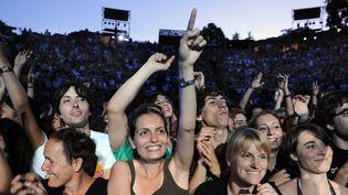 Le public enthousiaste des Nuits de Fourvière (ici au concert de Blur en 2009).  (Philippe Merle / AFP)