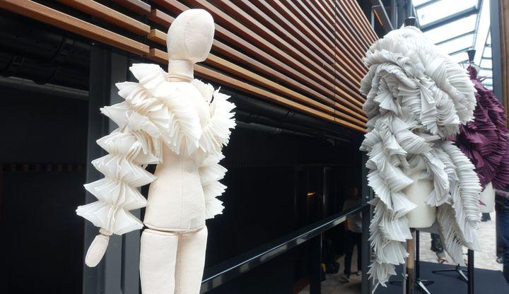 Maurizio Galante haute couture automne-hiver 2017, à Paris...  (Corinne Jeammet)