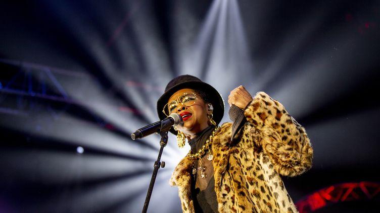 """Lauryn Hill vient d'attaquer la partie européenne de sa tournée pour célébrer les 20 ans de """"The Miseducation of Lauryn Hill"""". (PATRICK STRAUB / KEYSTONE)"""