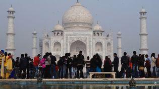 Le Taj Mahal en Inde  ( DOMINIQUE FAGET / AFP)