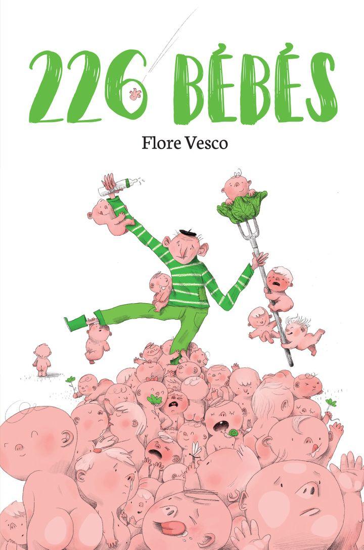 """""""226 bébés"""", de F. Vesco, illustré par Stéphane Nicolet (EDITIONS DIDIER JEUNESSE)"""