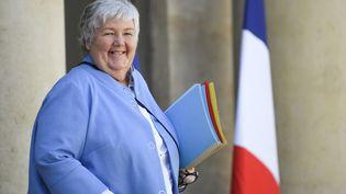 """Selon la ministre en charge du dossier corse Jacqueline Gourault, il y a eu des""""avancées""""et notamment du côté des""""prisonniers politiques"""", un terme qu'elle a utilisé contrairement aux usages gouvernementaux. (ERIC FEFERBERG / AFP)"""