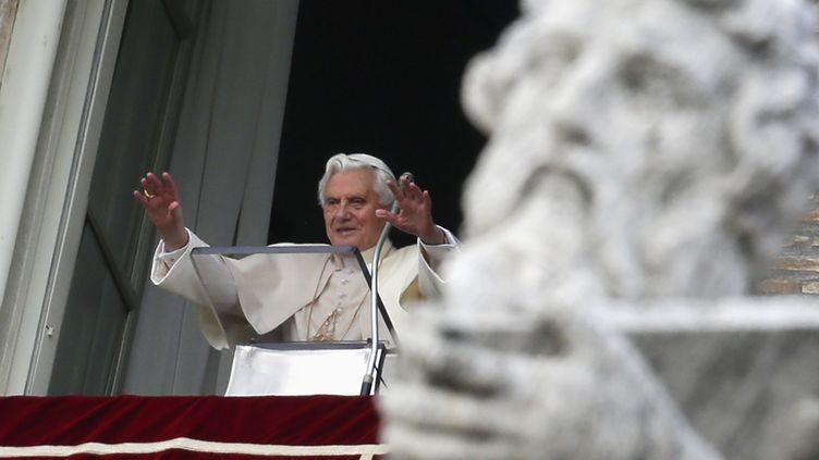 Le pape Benoît XVI, le 2 décembre 2012, au Vatican (Rome). (MAX ROSSI / REUTERS)