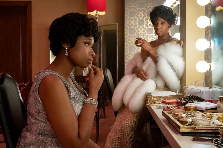 "Jennifer Hudson (Aretha Franklin) et Mary J. Blige (Dinah Washington) dans le film ""Respect"" (METRO GOLDWYN MEYER PICTURES / QUANTRELL D. COLBERT)"