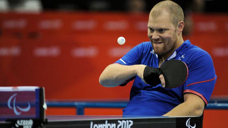Fabien Lamirault, en bronze aux Jeux Paralympiques de Londres en 2012