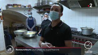 L'équipe du restaurant le JAM, à Forcalquier. (France 2)