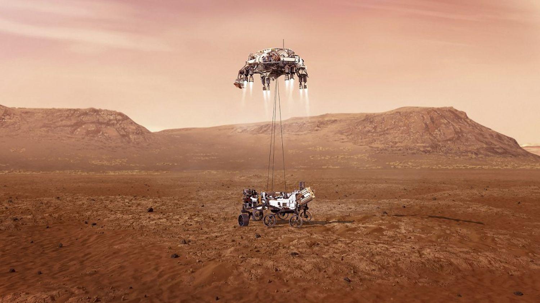 Une mission habitée posée sur Mars sera