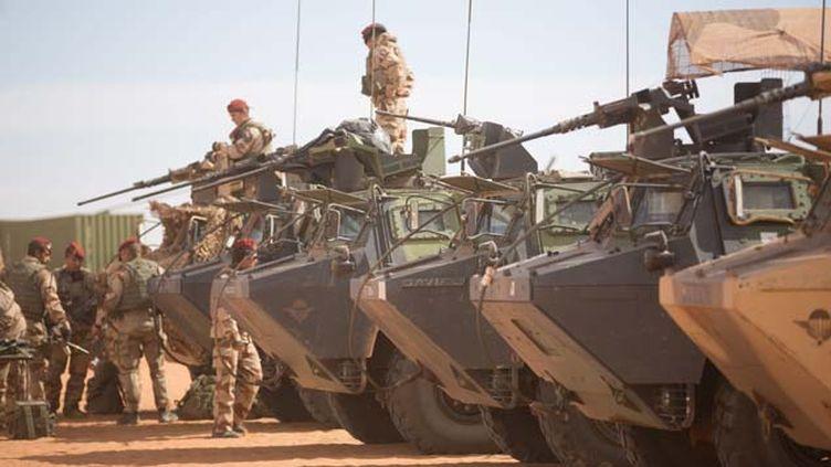 (C'est lors d'une opération menée dans la nuit du 17 au 18 mai que l'armée française a tué quatre terroristes dans le Nord du Mali © MaxPPP)
