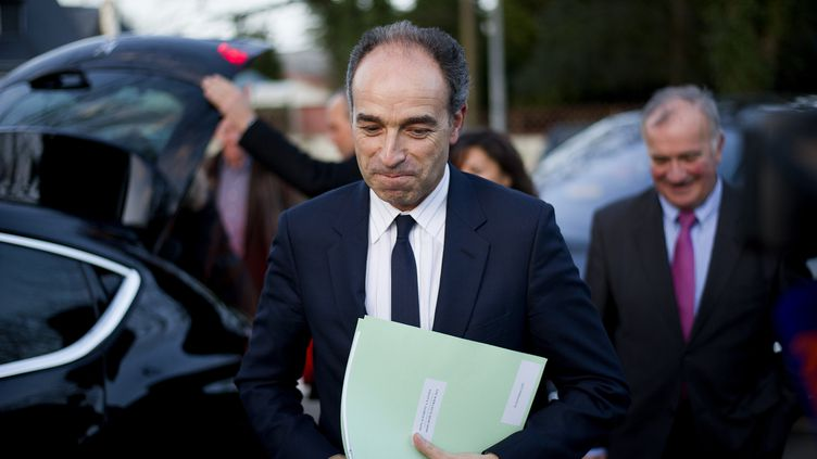 Le président de l'UMP, Jean-François Copé, le26 février 2014 à Nantes (Loire-Atlantique). (JEAN-SEBASTIEN EVRARD / AFP)