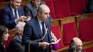 Le député LR Olivier Marleix à l'Assemblée nationale, le 17 janvier 2017. (MAXPPP)