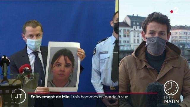 Enlèvement de Mia: trois hommes placés en garde à vue