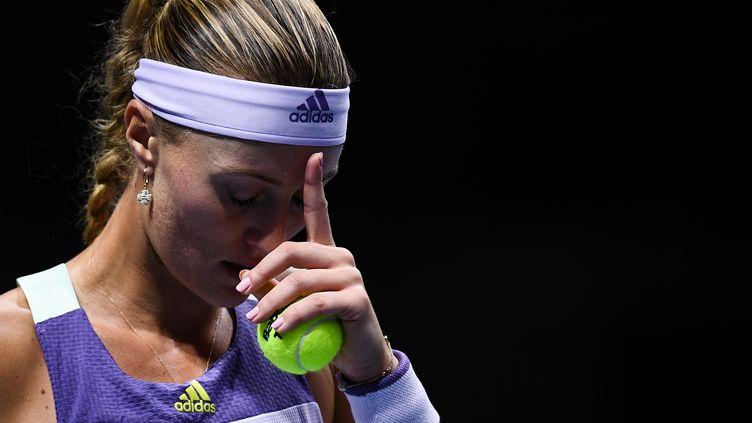 Kristina Mladenovic s'est écroulée au deuxième tour de l'US Open, alors qu'elle menait 6-1, 5-1. (VLADIMIR ASTAPKOVICH / SPUTNIK)