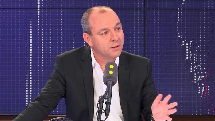 Laurent Berger, secrétaire général de la CFDT, sur franceinfo le 9 septembre 2019. (FRANCEINFO / RADIO FRANCE)