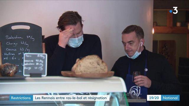 Mesures de restrictions : les habitants de Rennes lassés et inquiets