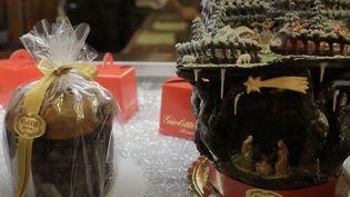 Le panettone, le dessert favori des Italiens à Noël. (Capture d'écran/France 2)