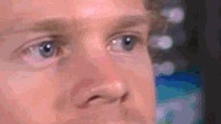 """Drew Scanlon, son GIFdit de """"l'homme qui cligne des yeux"""" utilisé près de deux milliards de fois. (CAPTURE D'ECRAN)"""