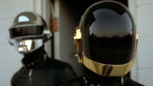 Daft Punk, le duo casqué.  (Droits réservés)