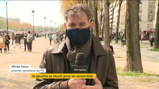 VIDEO. Présidentielle : une candidature commune socialiste et écologiste, annonce Olivier Faure, premier secrétaire du PS,