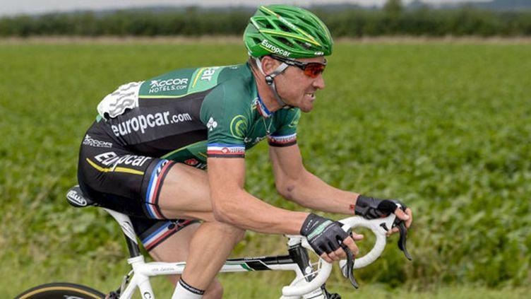 Le cycliste français Thomas Voeckler