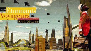 Festival Étonnants Voyageurs, du 18 au 20 mai 2013 à Saint Malo  (Vigilism (vigilism.com) – Ikiré Jones (ikirejones.com) / Conception graphique : www.erwanlemoigne.com)