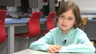 Un jeune Belge a obtenu l'équivalent du bac à l'âge de huit ans. (CAPTURE D'ÉCRAN FRANCE 3)
