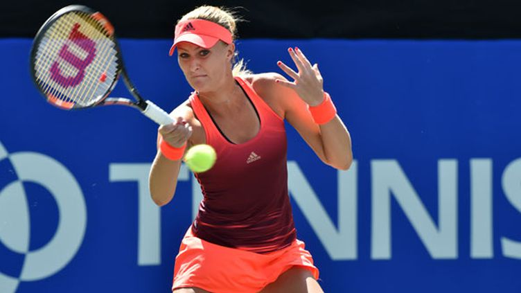 La joueuse française Kristina Mladenovic