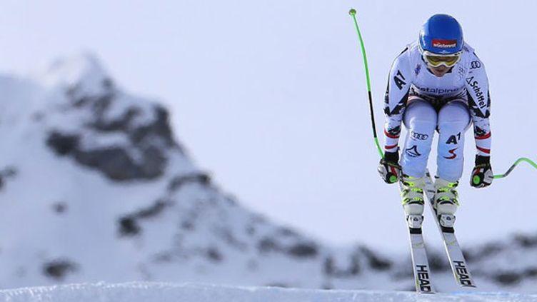 La skieuse autrichienne Elisabeth Goergl