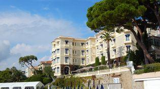 L'hôtel Belles Rives à Juan les Pins (JOHANNA HOELZL / DPA)