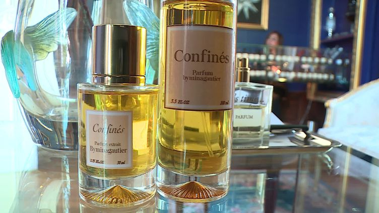 """""""Confinés"""" parfum de créateur By Mina Gautier (France 3 Grand Est)"""