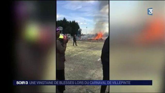 Villepinte : explosion accidentelle lors du carnaval