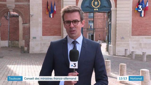 Europe : Conseil des ministres franco-allemand à Toulouse