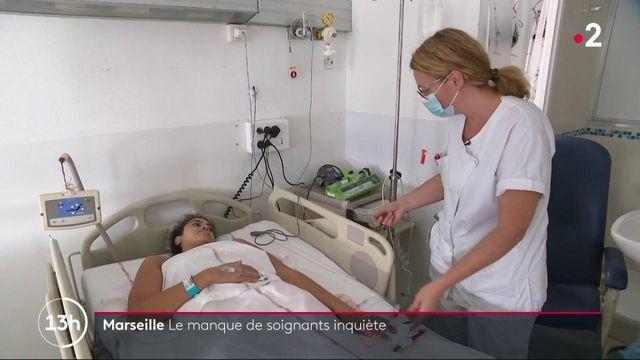 Crise sanitaire : à Marseille, la pénurie de soignants inquiète