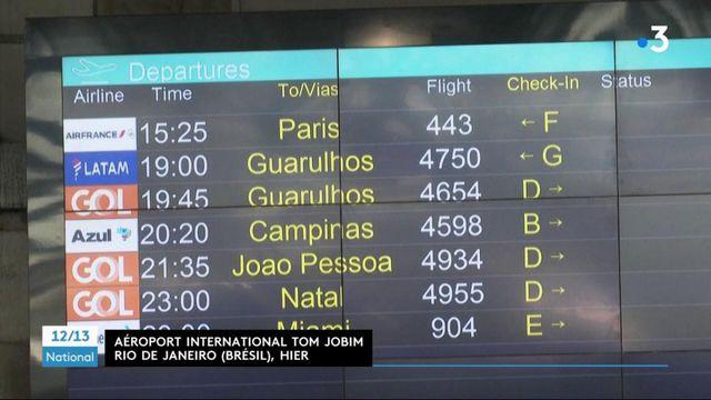 Covid-19 : les vols entre le Brésil et la France interrompus