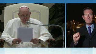 """Pédocriminalité dans l'Église : """"une honte"""" selon le Pape François (FRANCE 3)"""