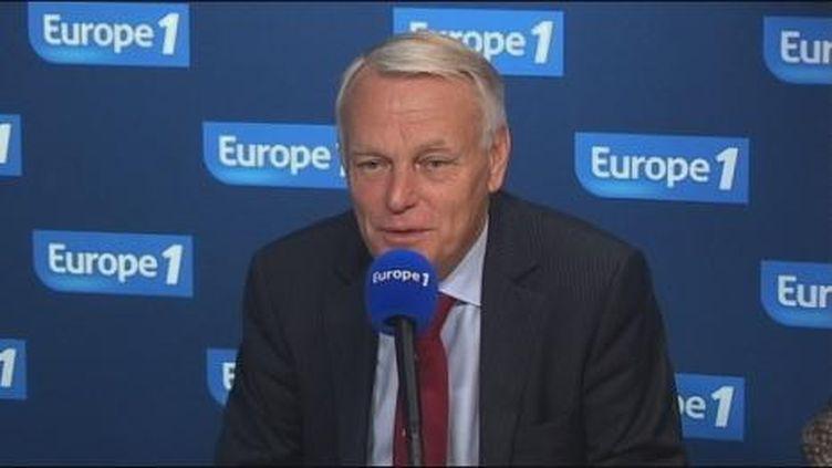 Le chef de file des députés socialistes ce mercredi matin au micro d'Europe1 (Europe1)