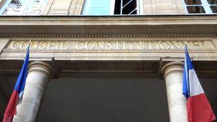 Fronton du Conseil constitutionnel, Paris. (OLIVIER BÉNIS / FRANCE-INTER)