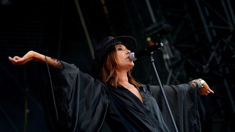 "Zazie en concert lors de sa tournée ""Essenciel"" (HUGO MARIE / EPA)"
