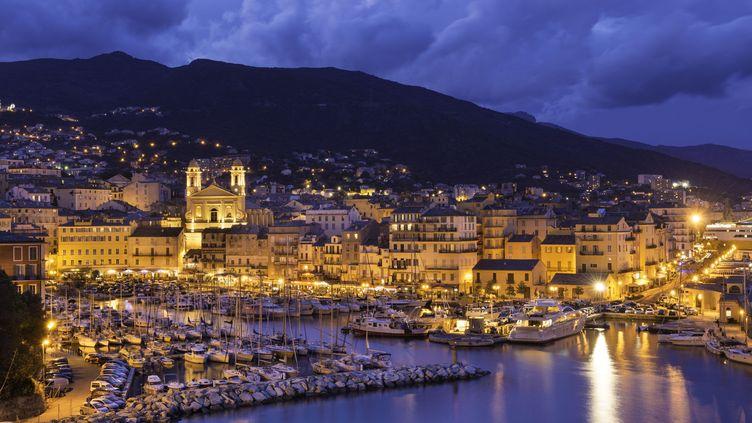 Le port de Bastia, en Corse, le 13 mai 2014. (STEPHANE LEMAIRE / HEMIS.FR / AFP)