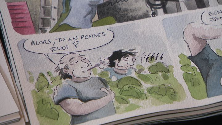 Extrait BD Nicolas Lesaint (France 3 Nouvelle Aquitaine)