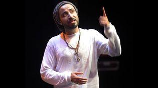 Qusai Kheder,  Chanteur de hip hop en Arabie saoudite: un exercice de haute voltige  (Bertrand Guay / AFP)