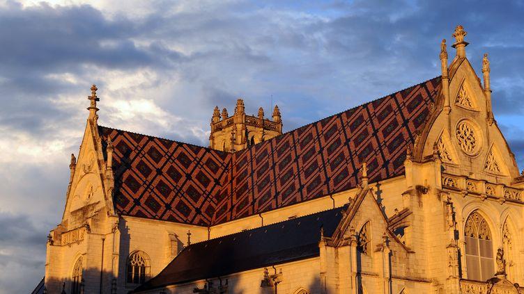 Le monastère royal de Brou, à Bourg-en-Bresse. (BALFIN JEAN PIERRE / MAXPPP)